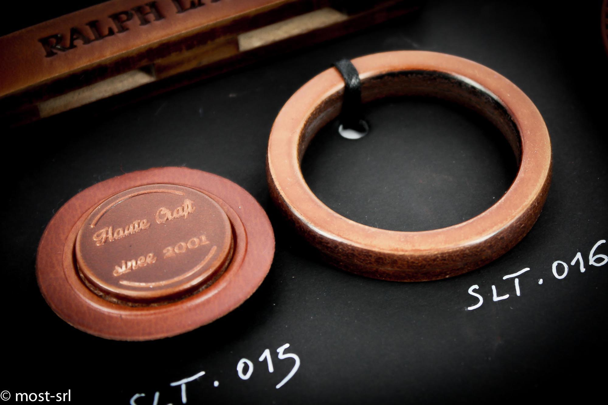 anello in cuoio